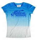 Body Action Γυναικεία Κοντομάνικη Μπλούζα FW18 Women Dip-Dyed T-Shirt 051723