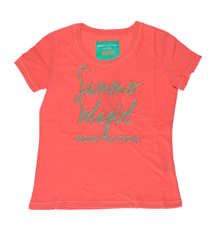 Body Action Παιδική Κοντομάνικη Μπλούζα Girls Short Sleeve T-Shirt 052503