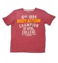 Body Action Ανδρική Κοντομάνικη Μπλούζα Men Slim Fit S/S T-Shirt 053511
