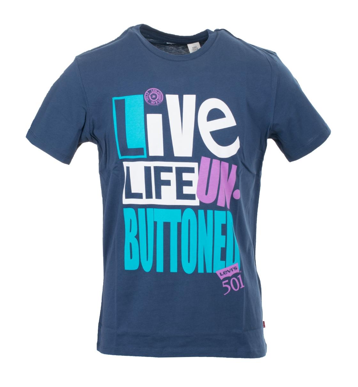 Levis Ανδρική Κοντομάνικη Μπλούζα Ss18 Ss Graphic Tshirt 2.0 Trend 14 Dress B 54914-0149