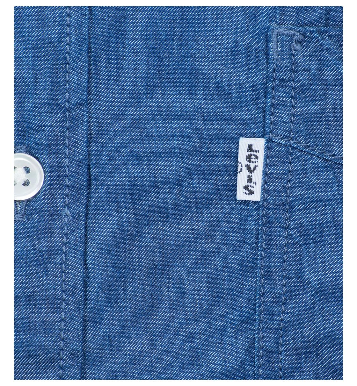 Levis Ανδρικό Πουκάμισο Ss18 S S Sunset 1 Pkt Shirt Blue Shade Indi 65826- be50bc94524