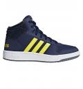 adidas Παιδικό Παπούτσι Μόδας Fw18 Hoops Mid 2.0 K B75745