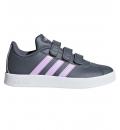 adidas Παιδικό Παπούτσι Μόδας Fw18 Vl Court 2.0 Cmf C B75972