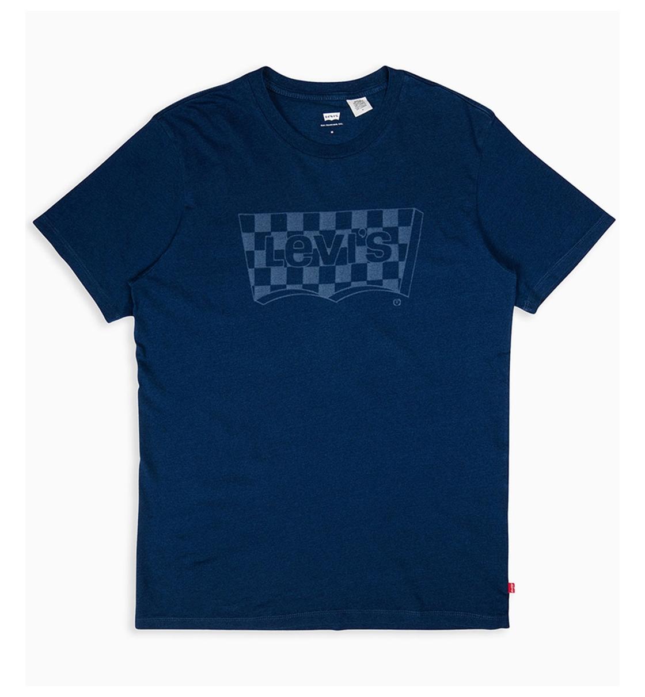 Levis Ανδρική Κοντομάνικη Μπλούζα Ss18 Housemark Graphic Tee Ssnl Core Indigo 22489-0087