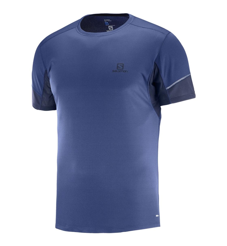 Salomon Ανδρική Κοντομάνικη Μπλούζα N Fw18 Trail Running Men Agile Ss 403855
