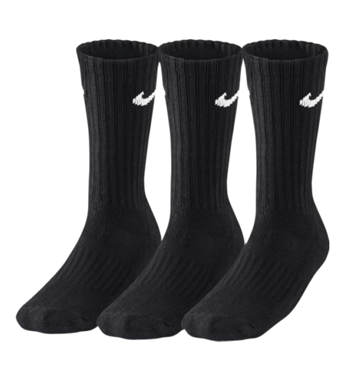 Nike Αθλητικές Κάλτσες U Nk Cush Crew 3Pr-Value Sx4508