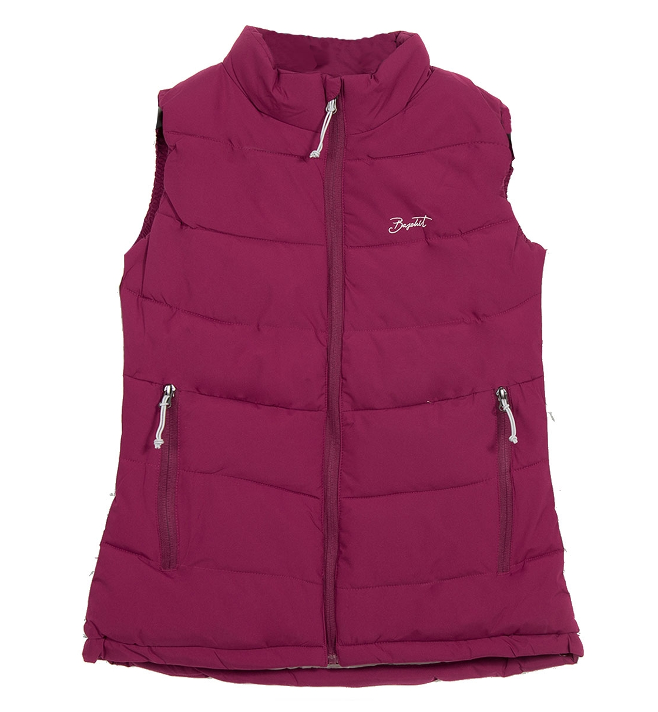 Basehit Γυναικείο Αθλητικό Μπουφάν Αμάνικο Fw18 Women'S P.P. Down Vest Jacket BW10.575