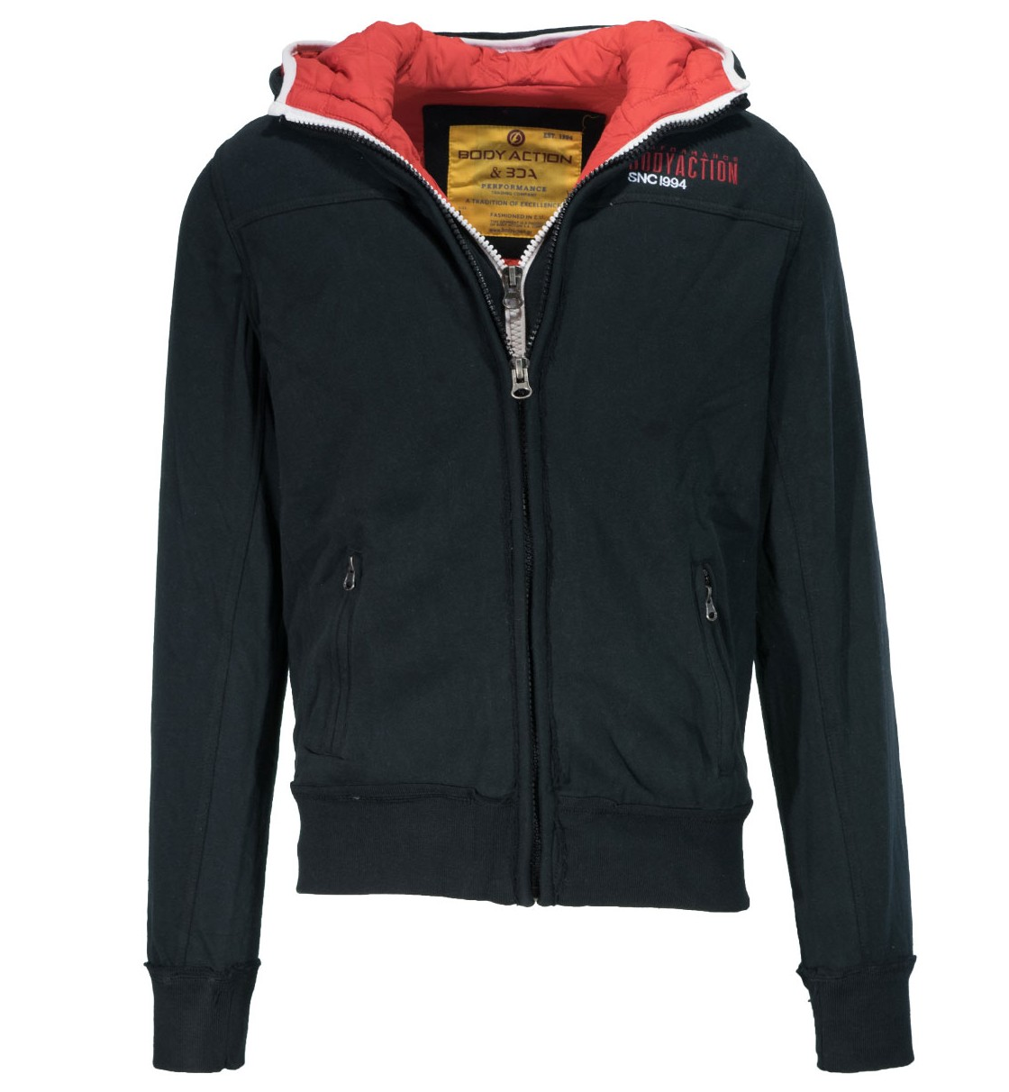 Body Action MEN DOUBLE LAYER QUILTED JACKET