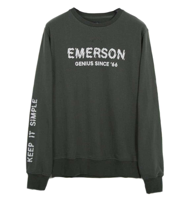 Emerson Ανδρική Μακρυμάνικη Μπλούζα Men'S Neckline Sweat 182.EM20.40