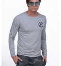 Body Action Ανδρική Μακρυμάνικη Μπλούζα Men Long Sleeve Crew Neck Tee 063826