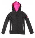 Body Action Γυναικεία Ζακέτα Με Κουκούλα Women Gym Tech Crop Zip Hoodie 071831