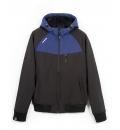 Basehit Ανδρικό Αθλητικό Μπουφάν Fw18 Men'S Soft Shell Ribbed Jacket With Hood BM11.111